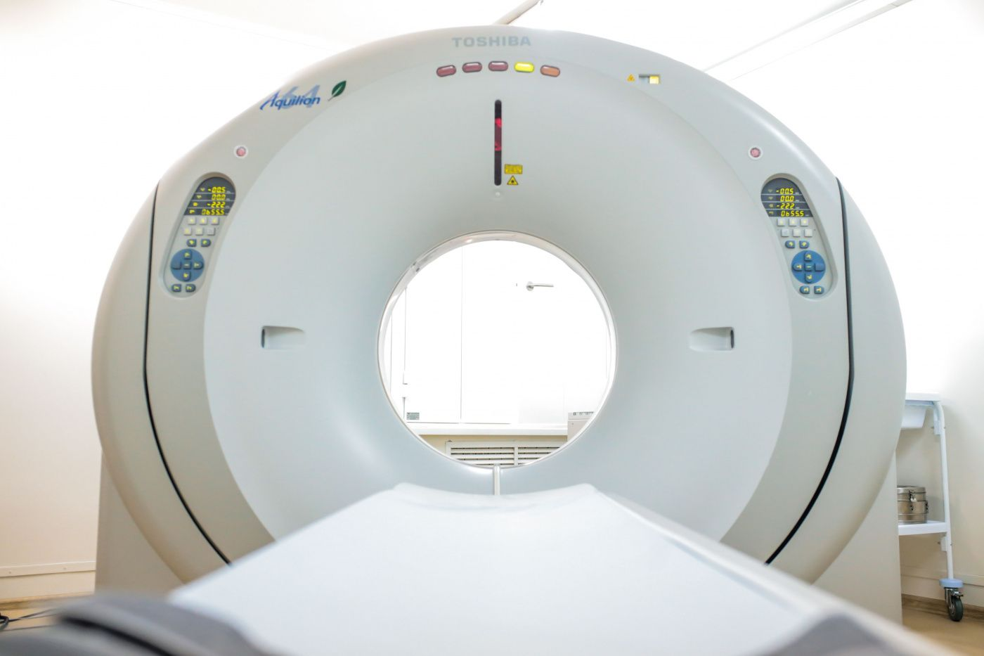 Booking an appointment for chest CT scan is available